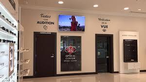 siege social optical center optical center place lasalle construction vergo