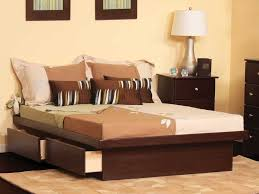 King Platform Bed With Headboard by Bed Frame Bedroom Gorgeous Bedroom Decoration Using Black Metal