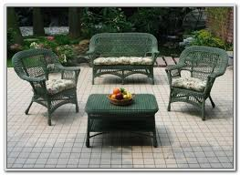 Wicker Patio Sets At Walmart by Black Wicker Patio Furniture Walmart Patios Home Design Ideas