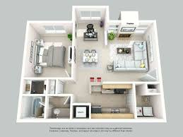 100 Small One Bedroom Apartments Gorgeous Apartment Designs Plans 3 Design 2