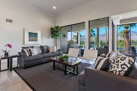 Modern Living Room With Benen Wall Art Made You Look Carpet Tiles