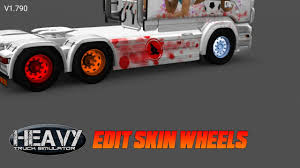 Edit Skin Wheel | Heavy Truck Simulator - YouTube How To Install 225 Wheel Covers Truckbuslorrytir Trims Hub Wheel For All Truck Mod American Truck Simulator Ats Peterbilt 579 13 Speed G27 Chevy Simulators Steering Creations Pack Dlc Youtube Hempam Kenworth Ultimate Customization Euro 2 Mods 16 6 Lug Stainless Covers Rim Liners Imported Trucks Mod