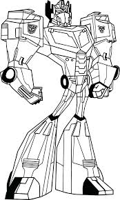 Optimus Prime Vs Megatron Coloring Pages Face Page Transformers Animated Free Printable Full Size