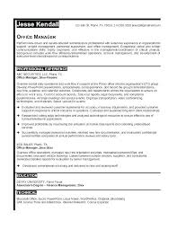 Resume Objective For Office Manager Medical Samples Example Free Sample Dental Statement