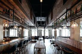 Industrial Restaurant Decor Interior Design With The