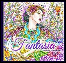 Fantasia Adult Coloring Book