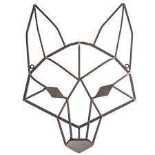 Hobby Lobby Wall Decor Metal by Geometric Fox Head Metal Wall Decor Hobby Lobby