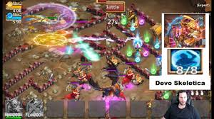 Castle Clash Pumpkin Duke Best Traits by Skeletica Owning Dungeons Game Play Big Boy Dragons Castle Clash