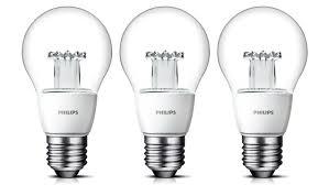 philips new clear led bulbs look just like incandescents bulbs