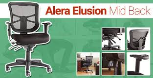 Alera Mesh Office Chairs by Alera Elusion Review Breathable Mesh Let U0027s Your Back Breathe