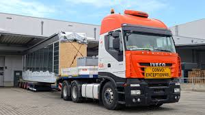 100 Mateco Truck Equipment Lifting Skyway Into Position ELEKTROMATEN DEen
