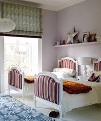 Childrens Bedroom Decorated With Patterns