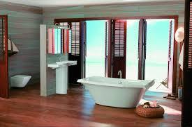 Kohler Memoirs Pedestal Sink And Toilet by Bathroom Kahrs Flooring With Kohler Pedestal Sink And