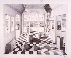 One Point Perspective Interior