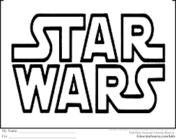 Star Wars Printable Coloring Pages Free Line Drawings