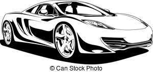 Sportscar Illustrations and Clipart 3 284 Sportscar royalty free