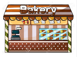 Illustration A Bakery A White Back 1336