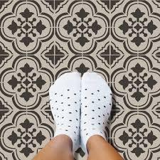 tile stencil designs stencil your old tile floor or backsplash