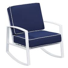 Allen + Roth Ocean Park 2-Count White Aluminum Rocking Patio ... Patio Fniture Accsories Rocking Chairs Best Choice Amazoncom Wood Slat Outdoor Chair Light Blue Upc 8457414380 Polywood Presidential Pacific Jefferson Recycled Plastic Cushioned Rattan Rocker Armchair Glider Lounge Wicker With Cushion Grey Quality Wooden Fredericbye Home Hanover Allweather Adirondack In Aruba Hvlnr10ar Us 17399 Giantex 3 Pc Set Coffee Table Cushions New Hw57335gr On Aliexpress Dark Folding Porch Winado 533900941611 3pieces