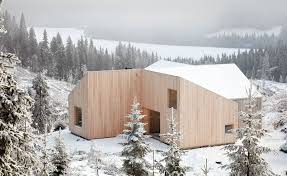 100 Ulnes Mylla Is A Modern Cabin In The Woods By Mork Architect