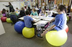 ditch student desk chairs for yoga balls
