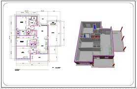 Drawings Dwg Autocad Sample Drawings For Houses Autocad House