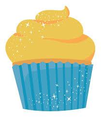 cream cupcake clipart