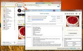logiciel recette cuisine section nouvelles logiciel le collectionneur de recettes