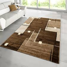 braun beige creme crem weiß teppich teppiche kurzflor