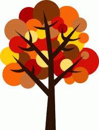 Thanksgiving tree clipart