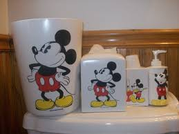 Mickey Mouse Bathroom Decor Walmart by 13 Mickey Mouse Bathroom Set Washington Decoration
