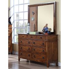 Wayfair Dresser With Mirror by Viv Rae Reginald 6 Drawer Dresser With Mirror Wayfair