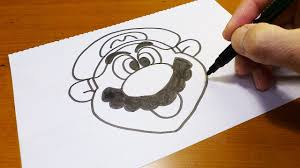 Very Easy How To Draw A Super Mario Brothers
