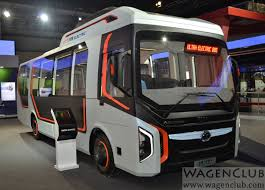 100 Electric Mini Truck Tata Ultra Bus 2016 Auto Expo WagenClub