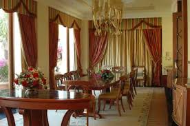 Dining Room Curtain Designs