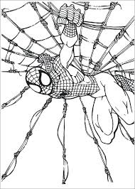 Spiderman Coloring Sheets Online Pages Homecoming Pdf Download Web