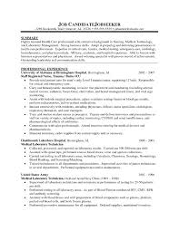 Oncology Nurse Resume Objective