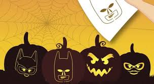 Batman Face Pumpkin Carving Stencils by Pumpkin Carving Stencils Of Your Kid U0027s Favorite Cartoon Characters