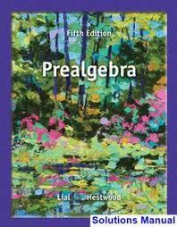 Prealgebra 5th Edition Lial Solutions Manual