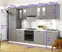 landhausküche lora küchenzeile 300 cm 9 tlg landhausstil