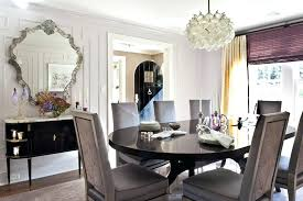 Dining Room Moulding New Wall Ideas Modern With Molding Clear Shade Ornate Mirror