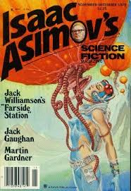 Isaac Asomovs Science Fiction Magazine Art Work By George Barr