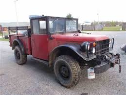 1961 Dodge Power Wagon M37 For Sale | ClassicCars.com | CC-975387 1952 Dodge M37 Military Ww2 Truck Beautifully Restored Bullet Motors Power Wagon V8 Auto For Sale Cars And 1954 44 Pickup 1953 Army Short Tour Youtube Not Running 2450 Old Wdx Wc 1964 Pickup Truck Item Dc0269 Sold April 3 Go 34 Ton 4x4 Cargo Walk Around Page 1 Power Wagon Kaiser Etc Pinterest Trucks Wiki Fandom Powered By Wikia