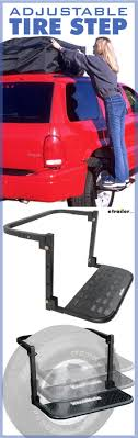HitchMate TireStep Adjustable Step For SUVs, RVs And Light Trucks ... Spgate Convertaball Distributing Inc Dodge Lil Red Express 1979 Mopar Engine Side Step Truck Pick Up Wrapping A Race Truck Step 1 Close Vehicle Pickup Stock Photo Image Royalty Step Vans For Sale This 2002 Used Wkhorse Van Perfect Food Amp Research Bedstep2 Installation 8lug Magazine February 2018 Stepmusings 52018 F150 Powerstep Ugnplay Running Boards W Blue 1996 Gmc With Custom Stepup Platform For Sale In Amazoncom Bully Bbs1103 Pair Of Stepbbs1104l Black Hitch