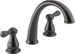 Delta Leland Bathroom Faucet Cartridge by Delta T2775 Rb Leland Roman Tub Trim Venetian Bronze Bathtub