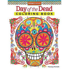 Day Of The Dead Adult Coloring Book