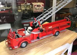 100 Antique Toy Fire Trucks Shining Red Doepke Truck Aka Ladder Truck Rossmoyne For Sale