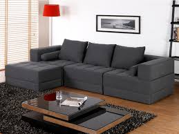 canape d angle modulable canapé d angle modulable en tissu et coloris gris sisco