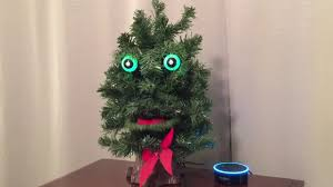 7 Douglas Fir Artificial Christmas Tree by Amazon Alexa Echo Dot Becomes Creepy Talking Christmas Tree Youtube
