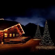 Flagpole Christmas Tree Uk by 3d Christmas Tree Outdoor Illuminated White Leds 3m By
